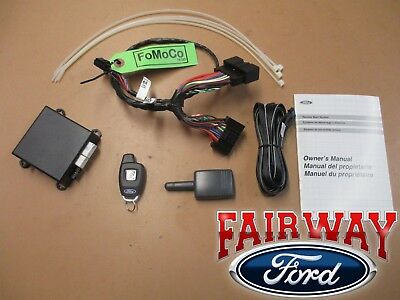 13 thru 17 Fusion OEM Genuine Ford Bi-Directional Remote Start System Kit NEW