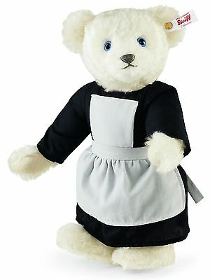 Steiff The Sound of Music White Mohair Teddy Bear Melody Jointed 31cm Ltd 682919