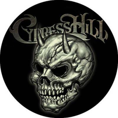 Cypress Hill Horned Skull Button Pin