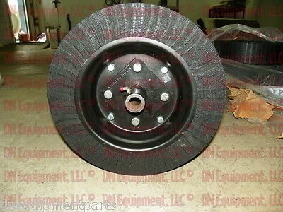 """Tailwheel for Rotary Cutter 15"""" Diam X 4"""" Wide, w/ Bushing Hub and Axle Bolt"""