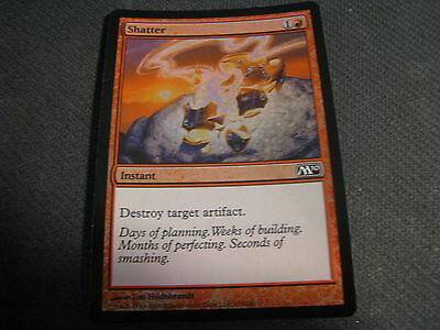 4 Mind Shatter = Black m10 Magic 2010 Mtg Magic Rare 4x x4