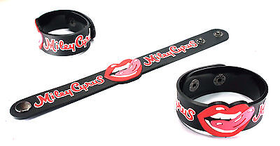 MILEY CYRUS NEW! Rubber Bracelet Wristband Free Shipping Wrecking Ball vr322