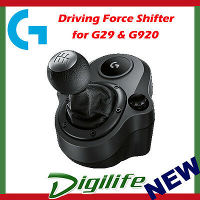 Logitech DRIVING FORCE Steering Wheel Shifter for G29 & G920