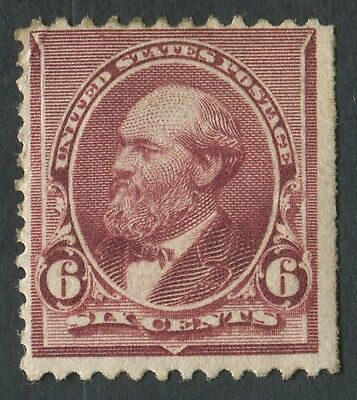 USA 1890-3 SG.229a 6 cents Mounted Mint