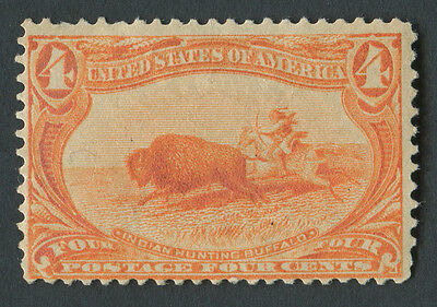 USA 1898 SG.293 4 cents Mounted Mint