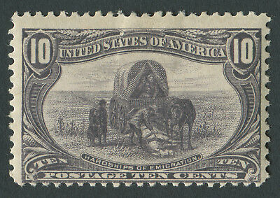 USA 1898 SG.296 10 cents Mounted Mint