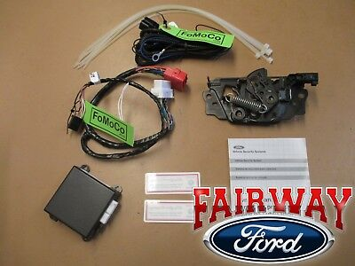 2016 Focus OEM Genuine Ford Scalable Security Alarm System Kit with Manual Temp