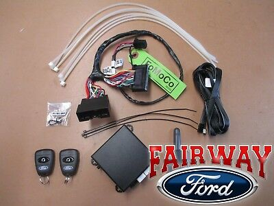 2016 Focus OEM Genuine Ford Remote Start & Security System Kit with Auto Temp