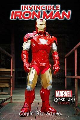 Invincible Iron Man #1 (2015) 1St Printing Scarce 1:15 Cosplay Variant Cover