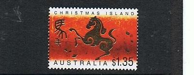 Stamps Australia  Christmas Island  2002 Year Of The Horse Stamp  (Mnh)  C10