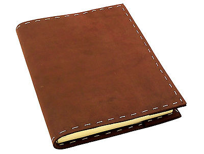 Refillable Genuine Leather Sketchbook Journal Diary Handmade Notebook Vintage