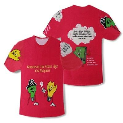 Queens Of The Stone Age Era Vulgaris   T-shirt # A107