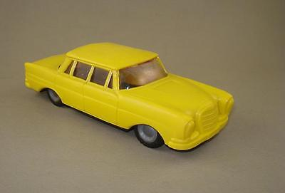 Vintage Hungary Friction Toy Mercedes W111 Foreign Flim Lemez Hungary