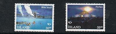 STAMPS ICELAND  1993  Landscapes , Spa  &  Architecture (MNH)   lot A 262