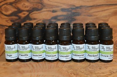 Pure & Natural Essential Oils Aromatherapy Massage Therapeutic 10ml
