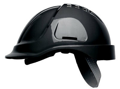 Scott HC600V Protector Style Vented Safety Helmet Hard Hat With Sweatband BLACK