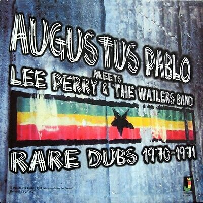 AUGUSTUS PABLO Meets LEE PERRY & THE WAILERS RARE DUBS 1970-1971 NEW LP £10.99