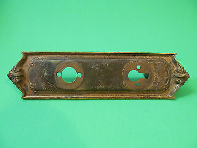 Sargent & Co Antique Door Lock Plate VF Lock Cover