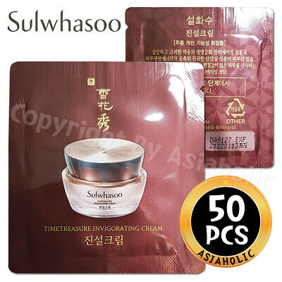 Sulwhasoo Timetreasure Renovating Cream EX 1ml x 50pcs (50ml) Sample AMORE