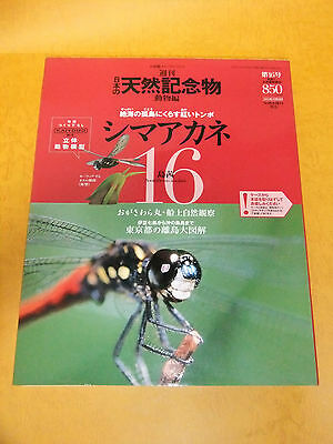 KAIYODO Japanese natural monument vol.16 SIMA-AKANE rare data book with figure!