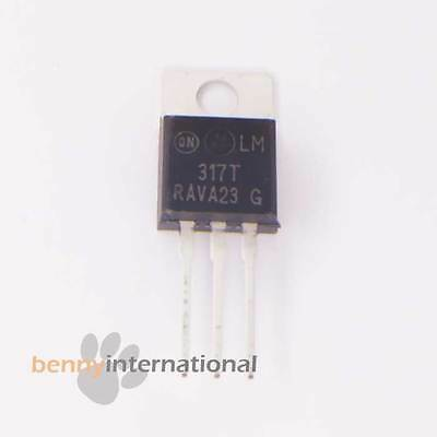 4x LM317 LM317TG VARIABLE VOLTAGE REGULATOR 1.2 - 37V 1.5A Arduino - AUS STOCK