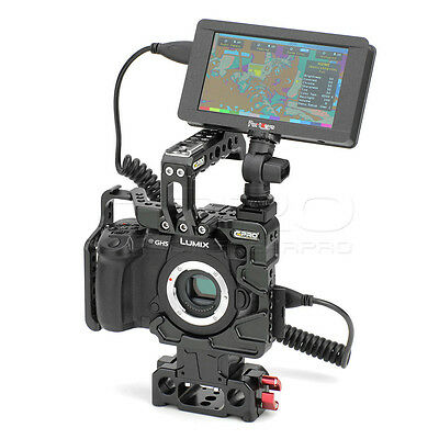 CGPRO Armour Cage Monitor Kit For GH5 with Portkeys 5inch Touch screen Monitor