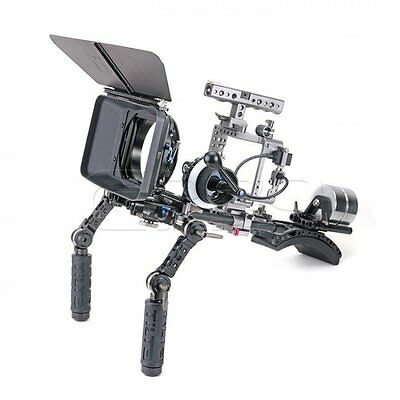 TILTA ES-T17 A7 Series Offset Shoulder Rig+MB-T05 Matte Box+FF-T03 Follow Focus