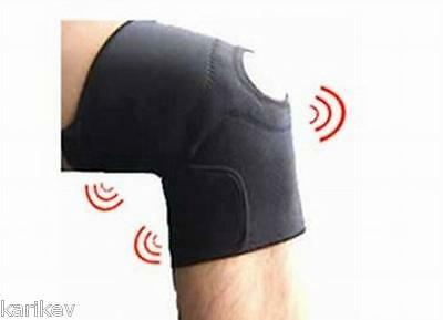 Magnetic Knee Support Brace Strap Neoprene Pain Arthritis Sport Gym Open Patella