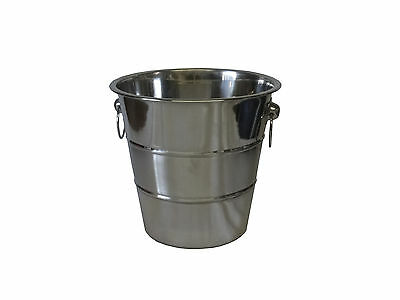 Stainless Steel Champagne Bucket Pail Ice Cooler Wine