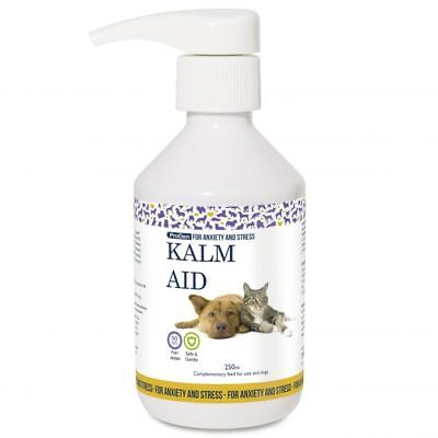 Kalm Aid Liquid 250ml for Dogs and Cats - Anxiety Relief, Fast Dispatch
