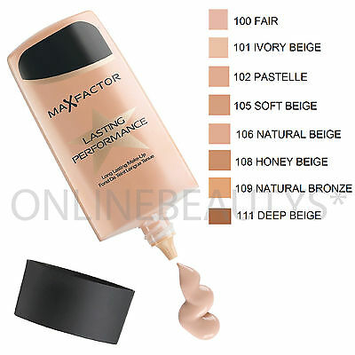 Max Factor Lasting Performance Makeup Foundation 35ml – Choose Your Shade!