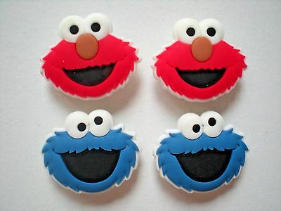 Clog Shoe Charm Button Plug Pin For Wristband Elmo For Accessories