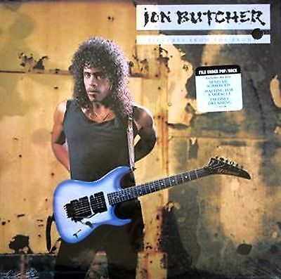 Lp-Jon Butcher-Pictures From The Front-U.s.a. 1989-N.mint