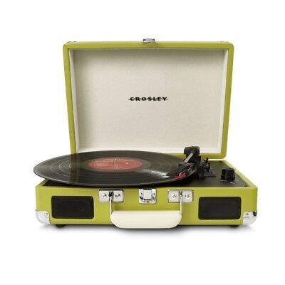 Crosley Cruiser Retro Vinyl Record Player Turntable  - Green