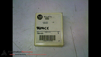 Allen Bradley 595-A00 Series A Auxiliary Contact, New