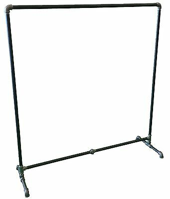 Retail Store Fixture Industrial Style Clothing Rack Pipe Rack Heavy Duty