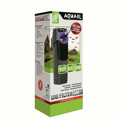 Aquael Innenfilter UNIFILTER UV 500 - Uni Filter Aquariumfilter Fische Aquarium
