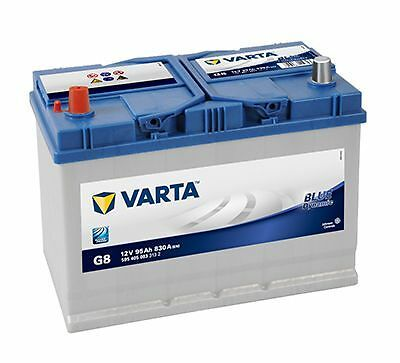 Batterie voiture Varta Blue Dynamic G8 12v 95ah 830A 306x173x225mm