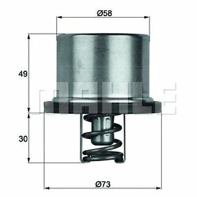 Heavy Duty Thermostat - MAHLE THD 1 71 - Quality MAHLE - Genuine UK Stock