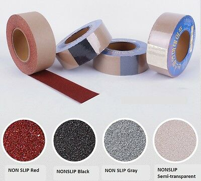 New NONSLIP tape DIY Easy and Quick Install 15 M*5 cm Keep Family member Safety