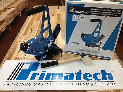 SALE! Primatech P250ALR Adjustable Pneumatic Floor Nailer w/ Mallet, FREE SHIP!