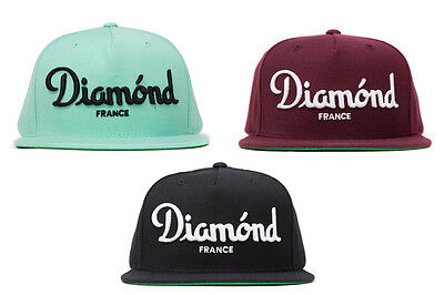 separation shoes be809 ae82a Diamond Supply Co Champagne Snapback in Blue, Black, or Maroon NWT