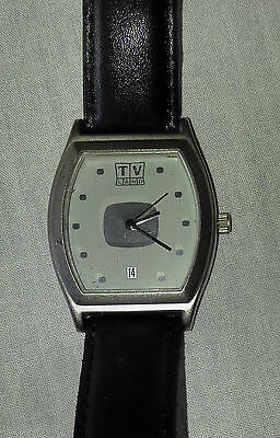 TV LAND Collectors Stainless Steel Watch With Date Calendar 2004 Viacom