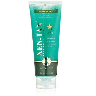 Xen-Tan Body Scrub Exfoliator For Longer Lasting Self-Tan Application 236ml