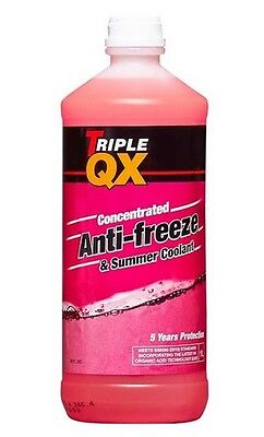 Triple QX 1L Red AntiFreeze Summer Coolant Concentrate 1 Litre Tracked Post