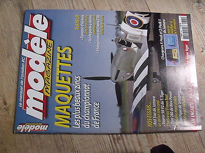 $$ Modèle magazine N°625 plan encarté planeur Machaon 480  Dynamic  Red Star