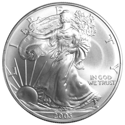 2003 $1 American Silver Eagle 1 oz Brilliant Uncirculated