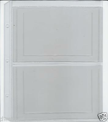 """Unimaster Coin Album """"C"""" Pages: 2-Pocket Extra Pages to hold Mint Sets- $2.75"""