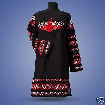 Ukrainian embroidered dress, sorochka, shirt, borshivka, vyshyvanka. Size S-XL