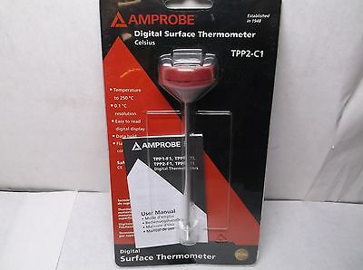 New Amprobe TPP2-C1 Digital Pocket Thermometer Digital (H3A)